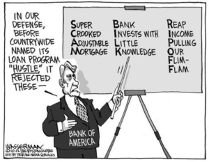 Bank of America and Countrywide Foreclosure