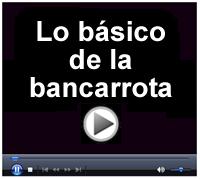 bancarota - banca rota - Spanish